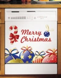 Christmas Magnetic Dishwasher Covers
